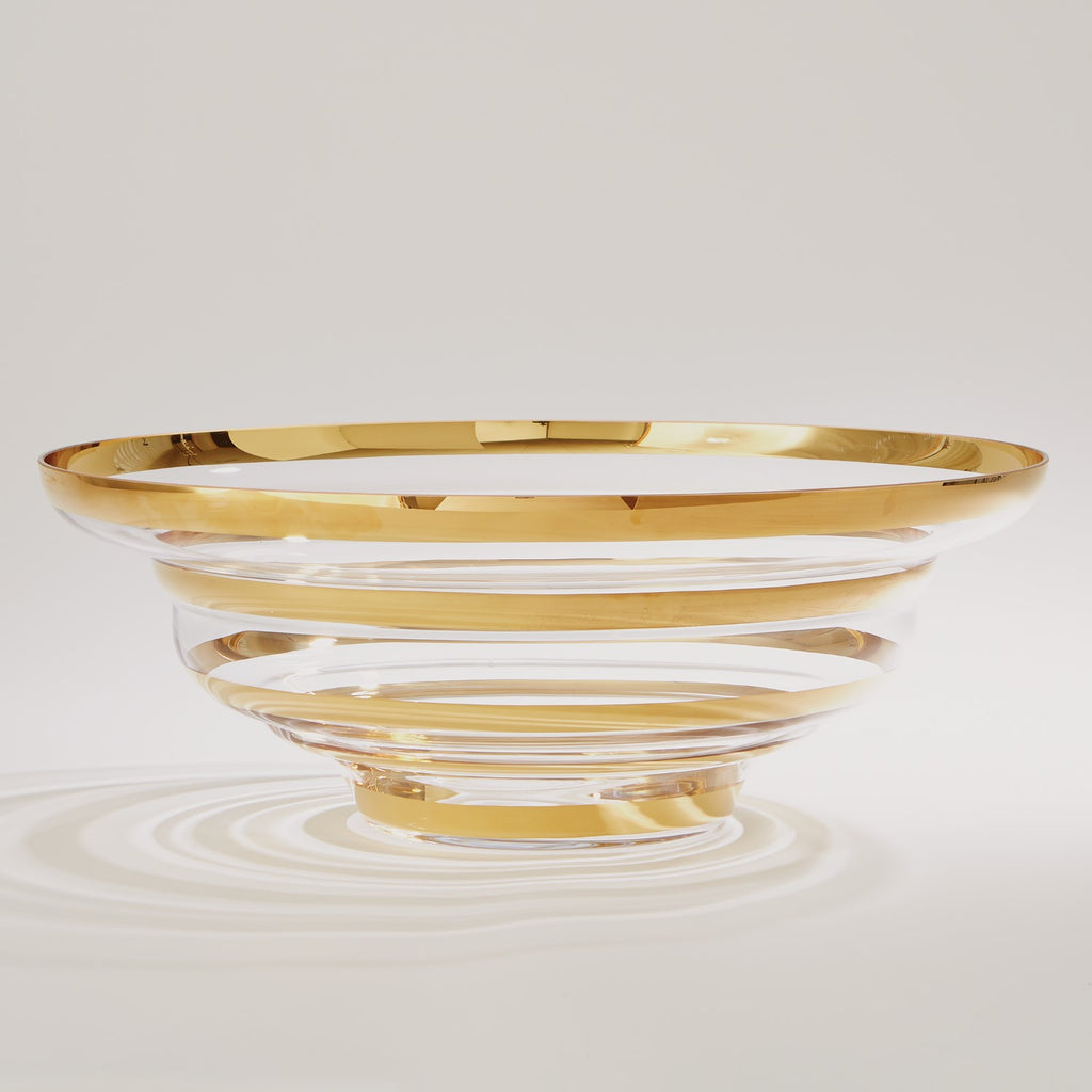 Saturn Bowl - Gold