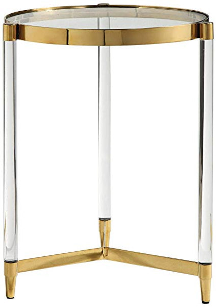 Deco Glass Accent Table