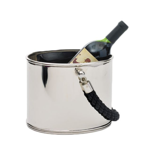 Black Rope Ice Bucket