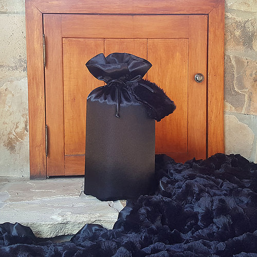 Travel Blanket Set - Black