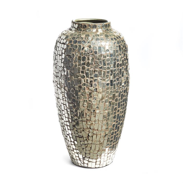 Sevilla Mirrored Mosaic Tall Urn