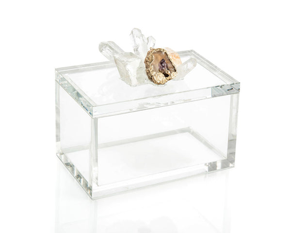 Clear-Cut Crystal Box by John Richard