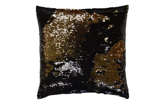 Hylee Pillow in Black/Gold