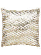 Kate Spade White Sequin Pillow