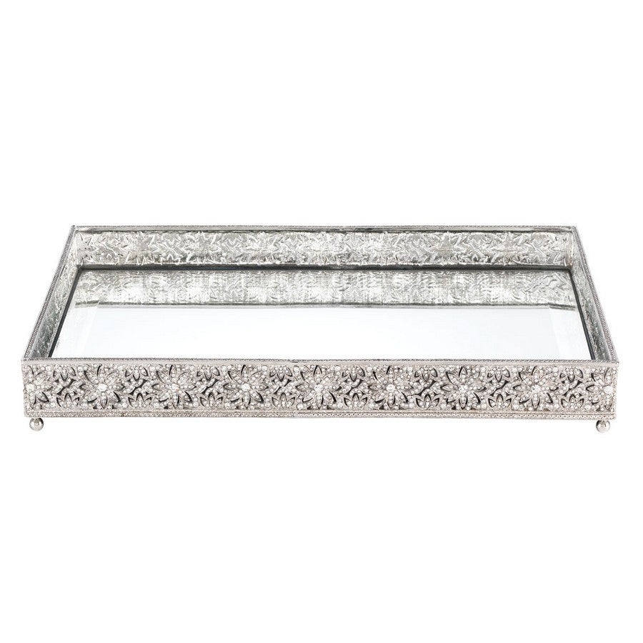Windsor Large Beveled Mirror Tray
