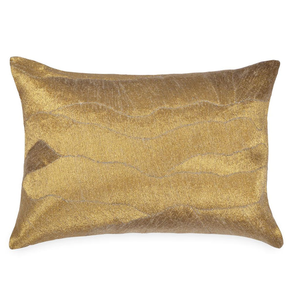 After the Storm Gold Pillow