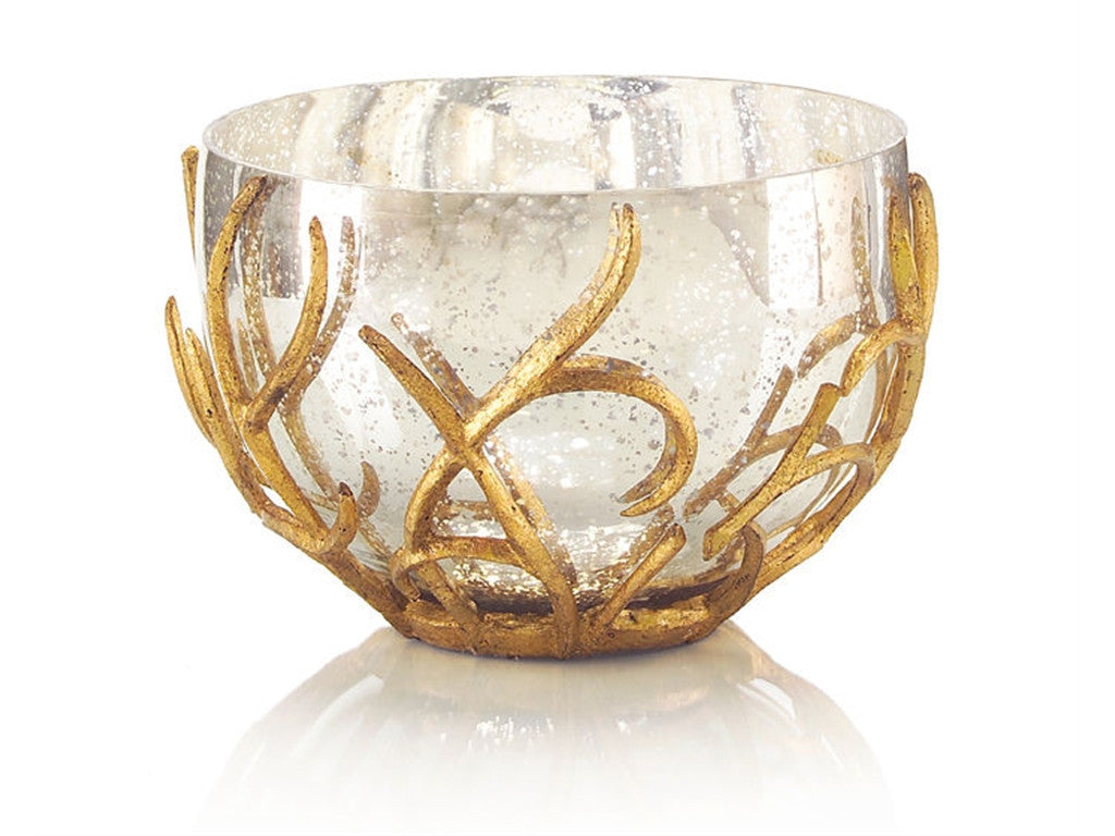 Gold Branch Bowl by John Richard