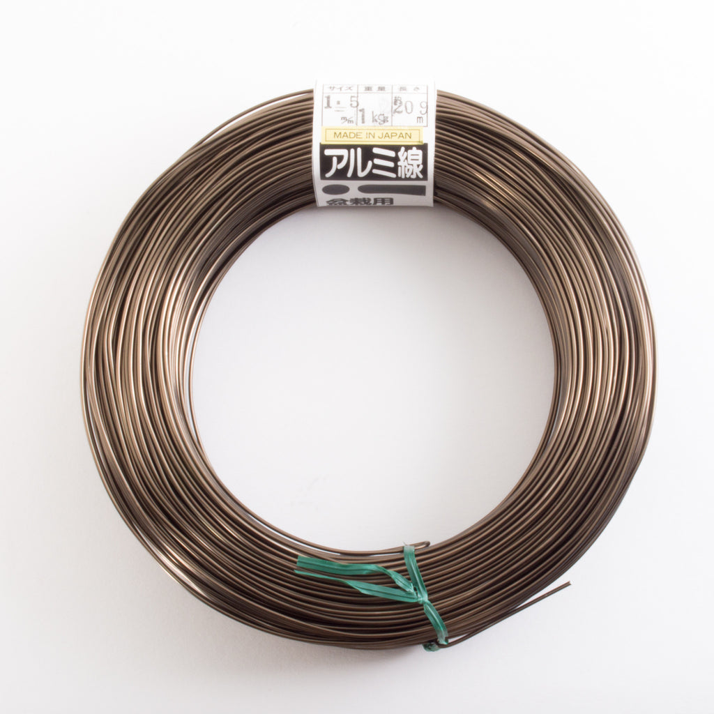 Aluminum bonsai wire - 1kg