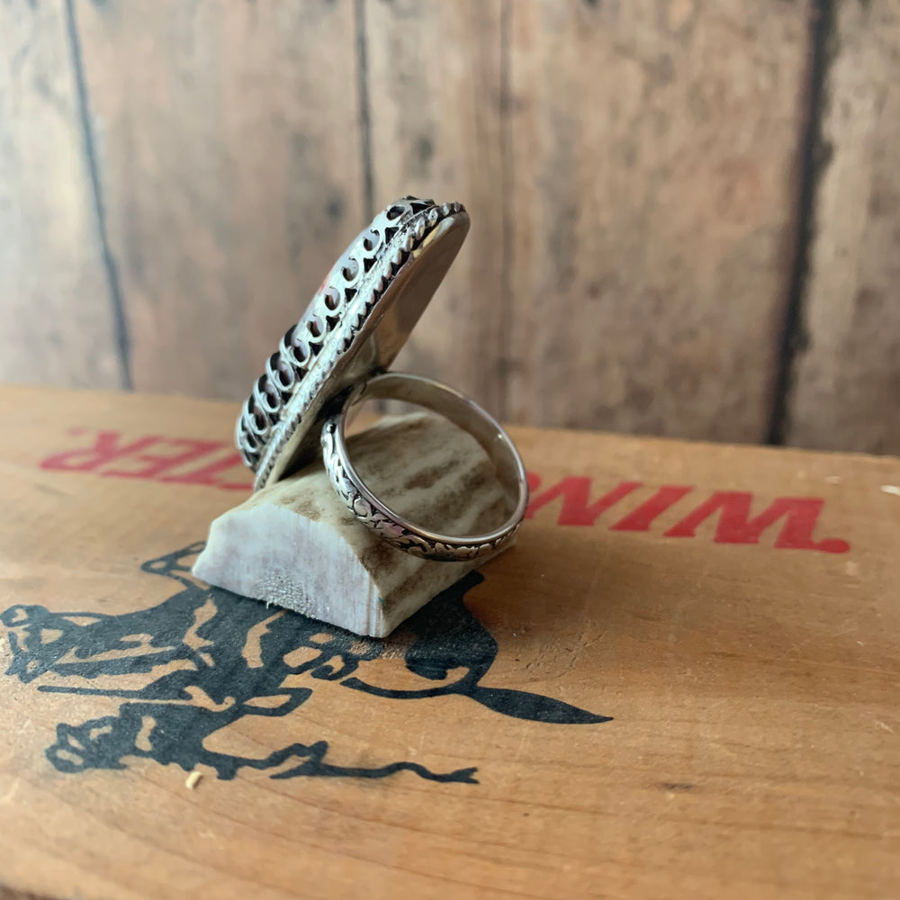 Laquna Lace Sterling Silver Ring