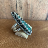 Lovely Chryscolla Sterling Silver Ring