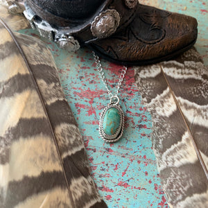 Royston Turquoise Sterling Silver Necklace