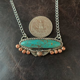 Royston Bar Turquoise Necklace
