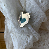 Bridewell Sterling Silver Heart necklace