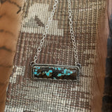 # 8 Turquoise Bar necklace