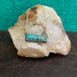 Kingman Turquoise Bar necklace
