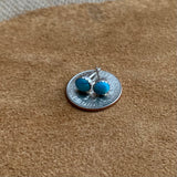 Kingman Turquoise Stud  post earrings