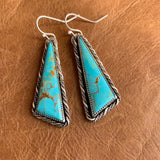 Baja Turquoise Sterling Silver earrings