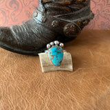Beautiful Turquoise Sterling Silver Ring