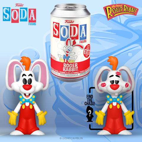 Funko Vinyl Soda Figure Roger Rabbit
