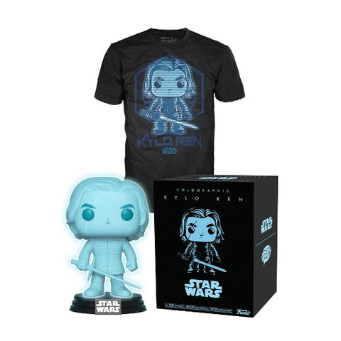 Funko Star Wars Collectors Box: Kylo Ren Holographic POP! & T-Shirt