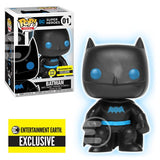 Justice League Batman Silhouette Glow-in-the-Dark Entertainment Earth Exclusive  Pop!