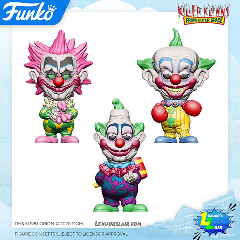 Killer Klowns from Outer Space Pop! Vinyl Figure Bundle