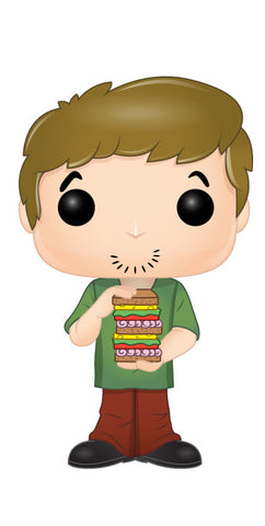 Scooby Doo Shaggy with Sandwich Pop! Vinyl Figure