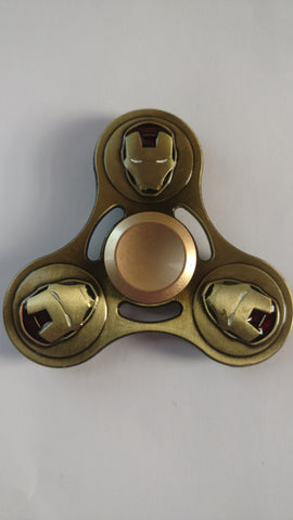 The Invincible Iron Man Fidget Spinner (Bronze)