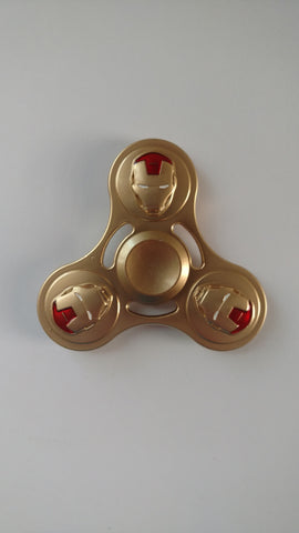 The Invincible Iron Man Fidget Spinner (Gold)