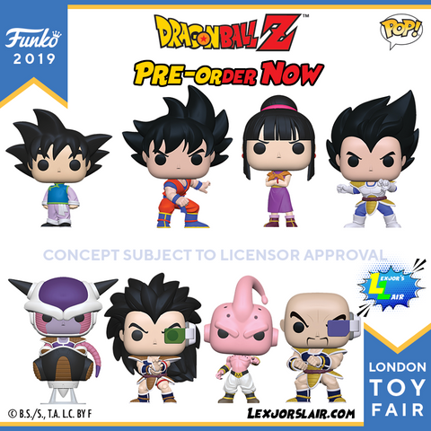 DRAGON BALL Z BUNDLE (London Toy Fair 2019)