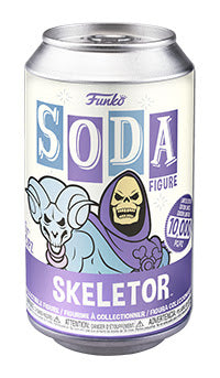 Funko Vinyl Soda Figure MOTU Skeletor