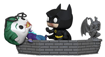 Batman and Joker 1989 80th Anniversary Pop! Movie Moment