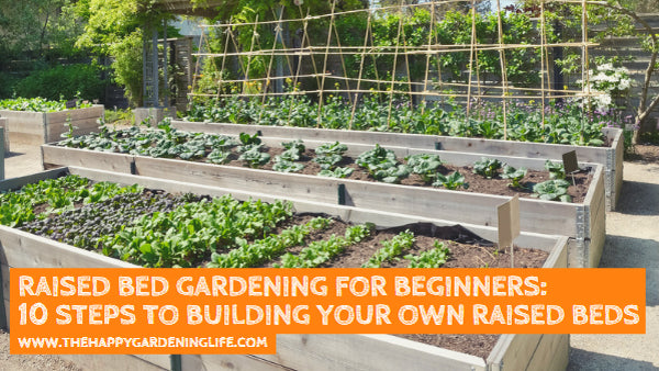 Raised Bed Gardening for Beginners: 10 Steps to Building Your Own Raised Garden Beds
