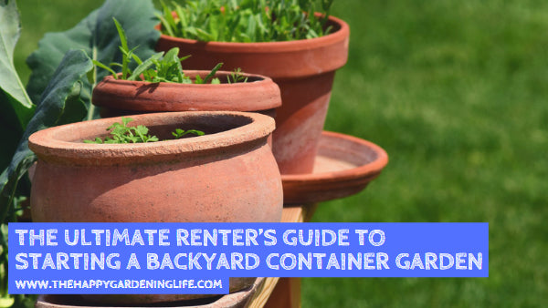 The Ultimate Renter's Guide to Starting a Backyard Container Garden