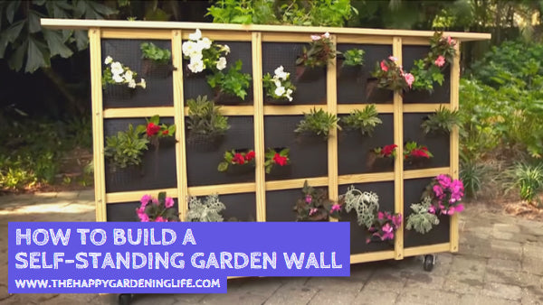 Want to Build a Self-Standing Garden Wall? Click Here for the Step-by-Step Instructions