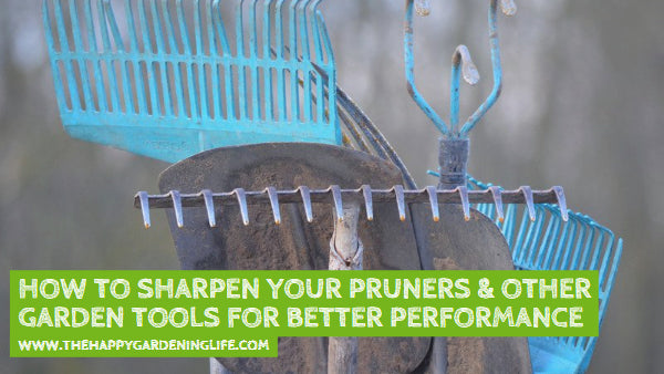 How to Sharpen Your Pruners & Other Garden Tools for Better Performance