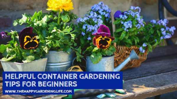 Helpful Container Gardening Tips for Beginners