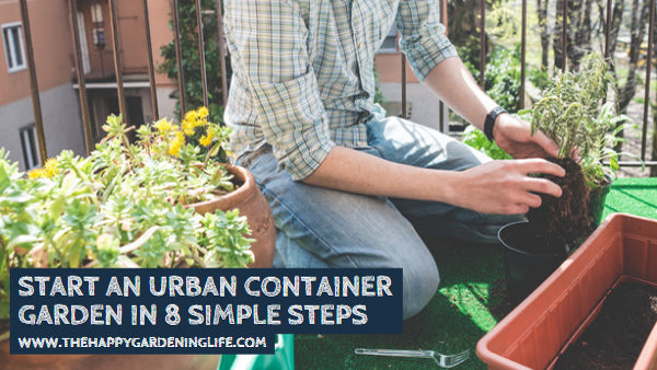 Start an Urban Container Garden in 8 Simple Steps
