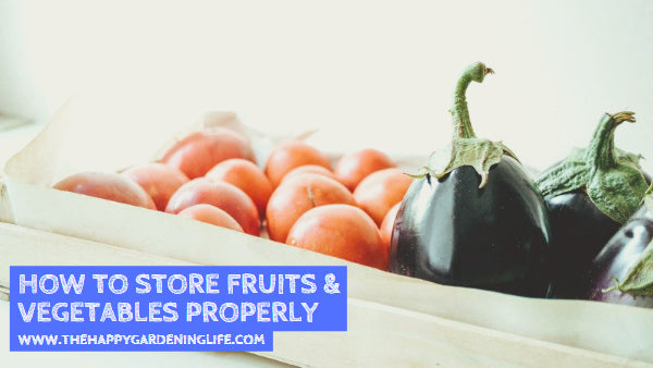 How to Store Fruits & Vegetables Properly