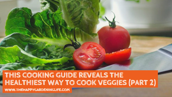 This Cooking Guide Reveals the Healthiest Way to Cook Veggies (Part 2)