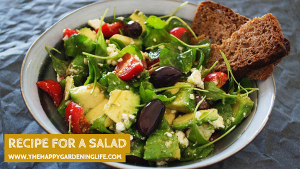 Recipe For A Salad