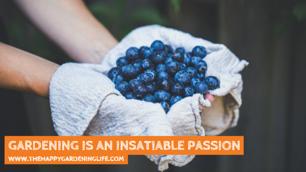 Gardening Is An Insatiable Passion