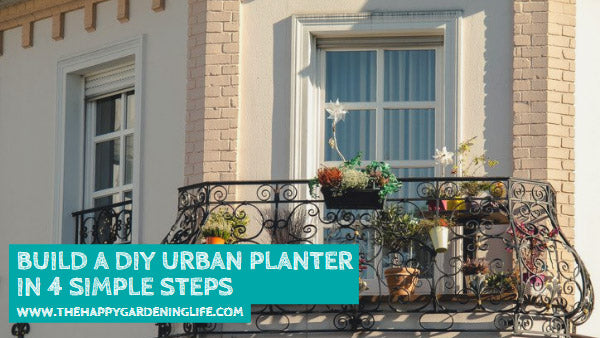 Build a DIY Urban Planter in 4 Simple Steps