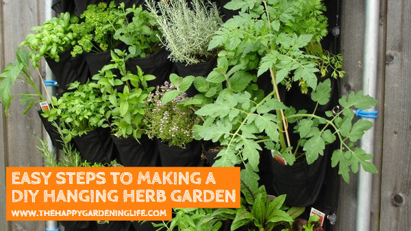 Easy Steps to Making a DIY Hanging Herb Garden