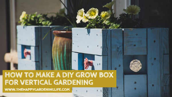 How to Make a DIY Grow Box for Vertical Gardening