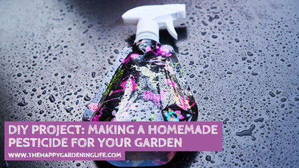 DIY Project: Making a Homemade Pesticide for Your Garden