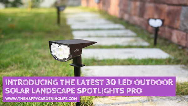 Introducing the Latest 30 LED Outdoor Solar Landscape Spotlights Pro