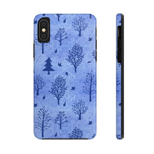 Load image into Gallery viewer, Winter Trees Tough Phone Cases - Blue