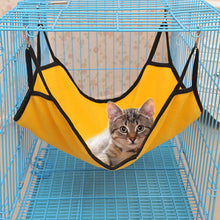 Load image into Gallery viewer, 4 Colors Hanging Cat Hammock Beds Soft Fleece