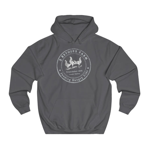 3 Esthers Farm Unisex College Hoodie